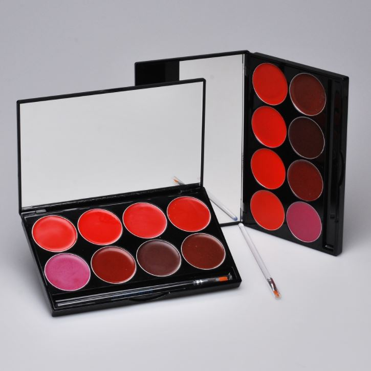 Mehron L.I.P Color Cream Palette Mehron Lip Cream Palette Pro Lip Makeup 103